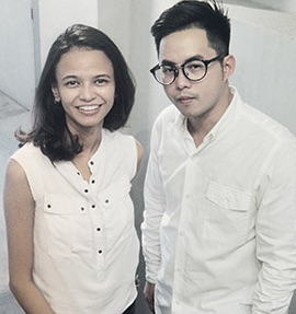 Nuru's Joanne Theseira  & Jonathan Ng