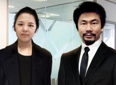 We Are Social's  Ying Chang & Pete Lin