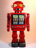 Metal House – Space Evil Robot (流星魔神) – Red Colour Version – Front